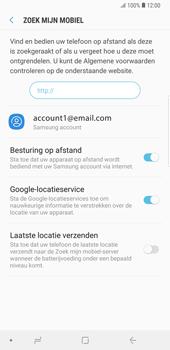 Samsung Galaxy Note9 - Beveiliging en privacy - Zoek mijn mobiel activeren - Stap 9