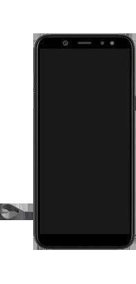 Samsung Galaxy A6 - Premiers pas - Insérer la carte SIM - Étape 6