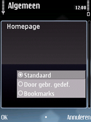 Nokia E75 - Internet - handmatig instellen - Stap 23