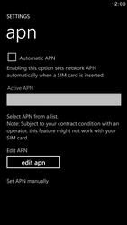 Samsung I8750 Ativ S - Internet - Manual configuration - Step 6