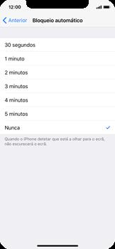 Apple iPhone X - Segurança - Bloqueio automático do ecrã -  5