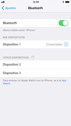 Apple iPhone 7 iOS 11 - Bluetooth - Conectar dispositivos a través de Bluetooth - Paso 6