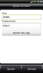 HTC S510e Desire S - Internet - Navigation sur Internet - Étape 10