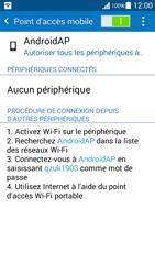 Samsung Galaxy Grand Prime (G530FZ) - Internet et connexion - Partager votre connexion en Wi-Fi - Étape 11