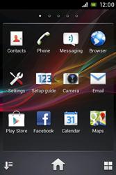 Sony C1505 Xperia E - WiFi and Bluetooth - Manual configuration - Step 3
