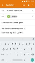 Wiko Lenny 3 - E-mail - E-mails verzenden - Stap 9