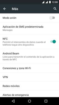 Motorola Moto X Play - Funciones básicas - Activar o desactivar el modo avión - Paso 5