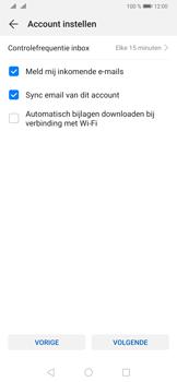 Huawei P30 Pro - E-mail - Handmatig instellen - Stap 18