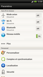 HTC S720e One X - Internet - Configuration manuelle - Étape 5