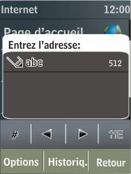 Nokia X3-02 - Internet - navigation sur Internet - Étape 4