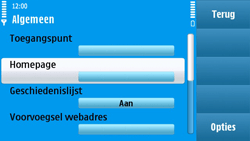 Nokia N97 - Internet - Handmatig instellen - Stap 23