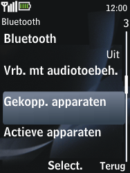 Nokia 2730 classic - Bluetooth - koppelen met ander apparaat - Stap 8
