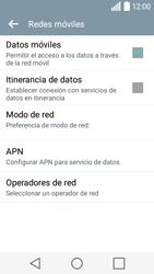 LG Leon - Red - Seleccionar una red - Paso 6