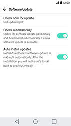 LG K10 2017 - Network - Installing software updates - Step 8