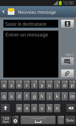 Samsung Galaxy S2 - Contact, Appels, SMS/MMS - Envoyer un MMS - Étape 5