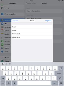 Apple iPad Pro 10.5 inch - iOS 11 - E-mail - Account instellen (IMAP zonder SMTP-verificatie) - Stap 9