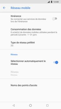 Nokia 8 Sirocco - Réseau - Changer mode réseau - Étape 9