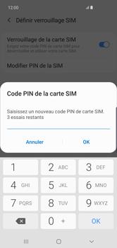 Samsung Galaxy S10 Plus - Sécurité - modifier SIM PIN - Étape 9