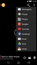 Sony Xperia Z2 - Photos, vidéos, musique - Créer une vidéo - Étape 13