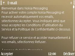 Nokia E72 - E-mail - Configuration manuelle - Étape 11
