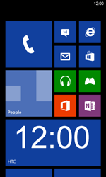 HTC Windows Phone 8S - Internet - Internet browsing - Step 1