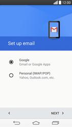 LG G3 (D855) - E-mail - Manual configuration (gmail) - Step 9