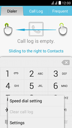 Huawei Y625 - Voicemail - Manual configuration - Step 4