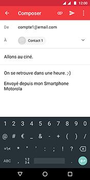 Motorola Moto G6 - E-mails - Envoyer un e-mail - Étape 11