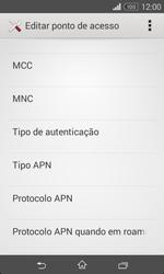 Sony Xperia E1 - Internet no telemóvel - Como configurar ligação à internet -  12