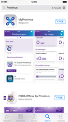 Apple iPad mini iOS 8 - Applications - MyProximus - Step 5