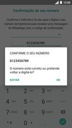 Motorola Moto C Plus - Aplicações - Como configurar o WhatsApp -  10