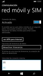 Microsoft Lumia 535 - Red - Seleccionar el tipo de red - Paso 6