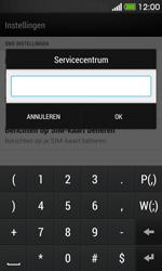HTC Desire 500 - SMS - handmatig instellen - Stap 7