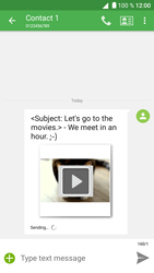 Alcatel Shine Lite - Mms - Sending a picture message - Step 20