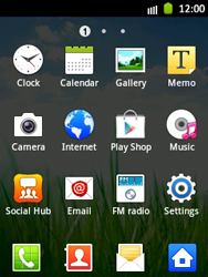 Samsung S5300 Galaxy Pocket - Internet - Enable or disable - Step 3