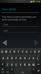 HTC One - Applications - Create an account - Step 5