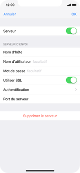 Apple iPhone X - iOS 12 - E-mail - Configuration manuelle - Étape 21