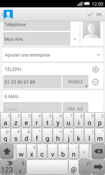 Alcatel OT-5050X Pop S3 - Contact, Appels, SMS/MMS - Ajouter un contact - Étape 12