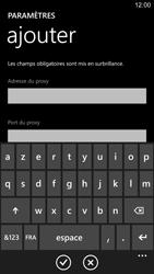 Nokia Lumia 1520 - Internet - Configuration manuelle - Étape 12