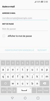 LG V30 - E-mail - Configuration manuelle - Étape 7