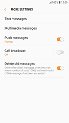 Samsung Galaxy Xcover 4 - SMS - Manual configuration - Step 7