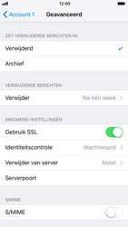 Apple iPhone 8 - E-mail - Account instellen (POP3 met SMTP-verificatie) - Stap 22