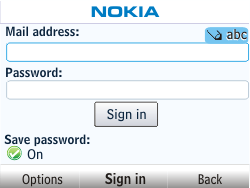 Nokia Asha 201 - E-mail - Manual configuration - Step 6