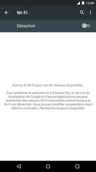 Motorola Nexus 6 - Wifi - configuration manuelle - Étape 4