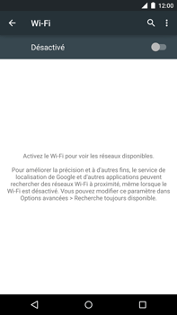 Motorola Nexus 6 - WiFi et Bluetooth - Configuration manuelle - Étape 5