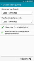 Samsung A500FU Galaxy A5 - E-mail - Configurar correo electrónico - Paso 17