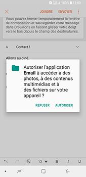 Samsung Galaxy A8 (2018) - E-mail - envoyer un e-mail - Étape 11