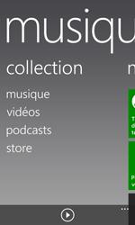 Nokia Lumia 520 - Photos, vidéos, musique - Ecouter de la musique - Étape 4