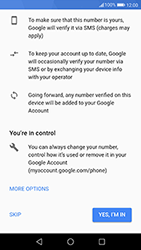 Huawei P10 - Android Oreo - Applications - Create an account - Step 12