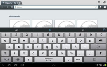 Samsung N8020 Galaxy Note 10-1 LTE - Internet - Hoe te internetten - Stap 4